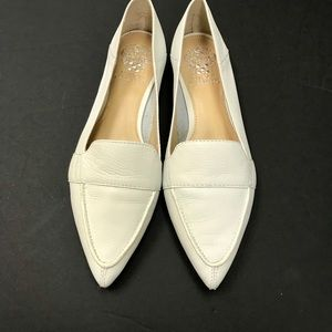 8f7f7c004a4 Vince Camuto Shoes - Vince Camuto Maita White Loafer